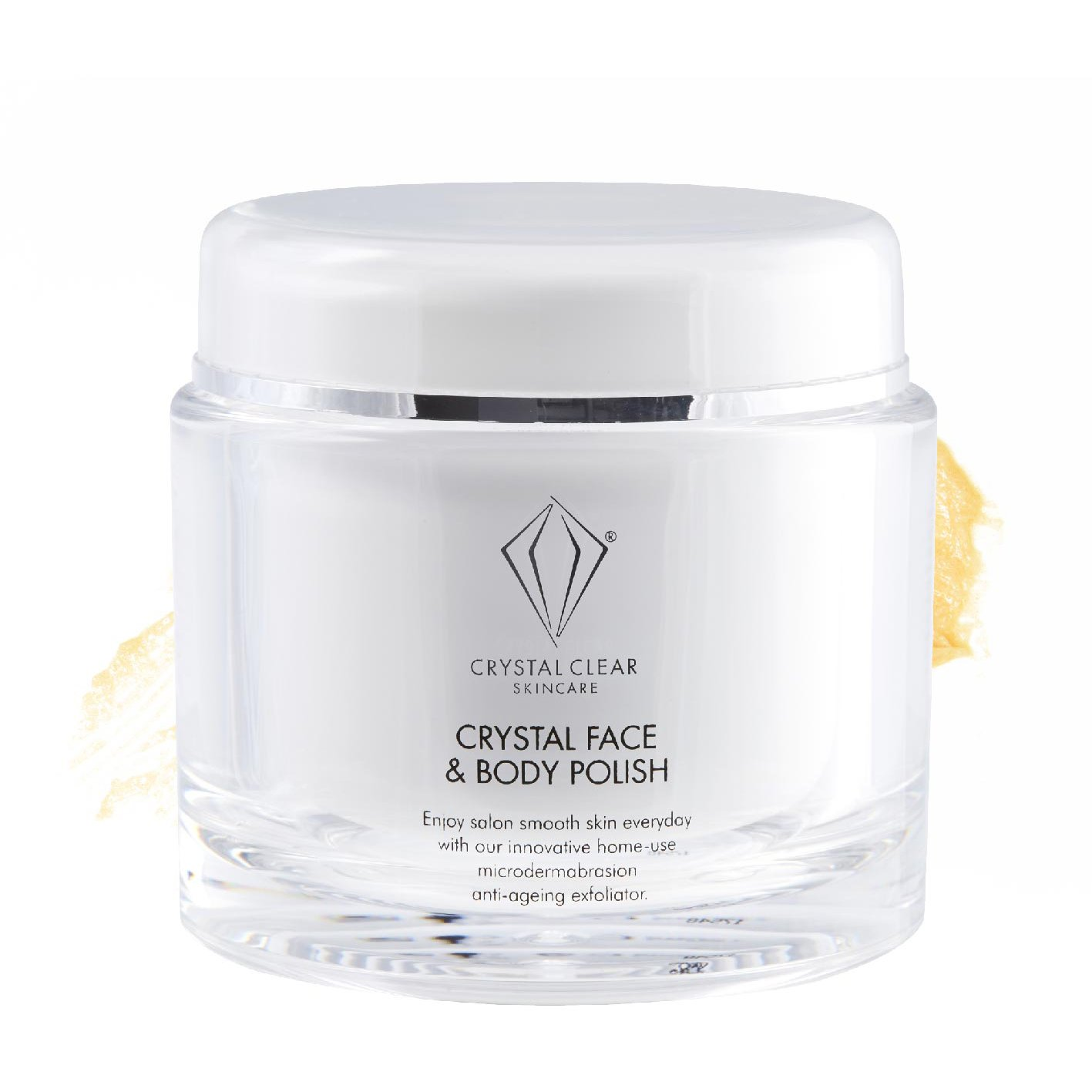 crystal face and body polish
