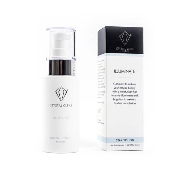 Crystal Clear Illuminate. Anti-ageing skincare.
