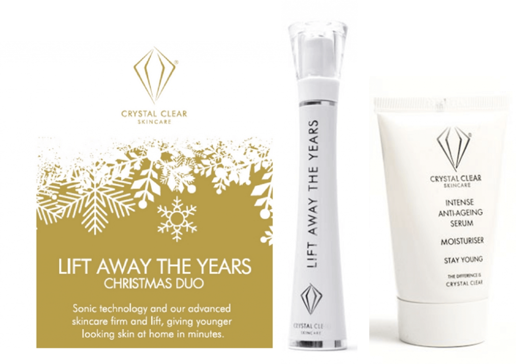 Crystal Clear Skincare Lift Away The Years Christmas Duo
