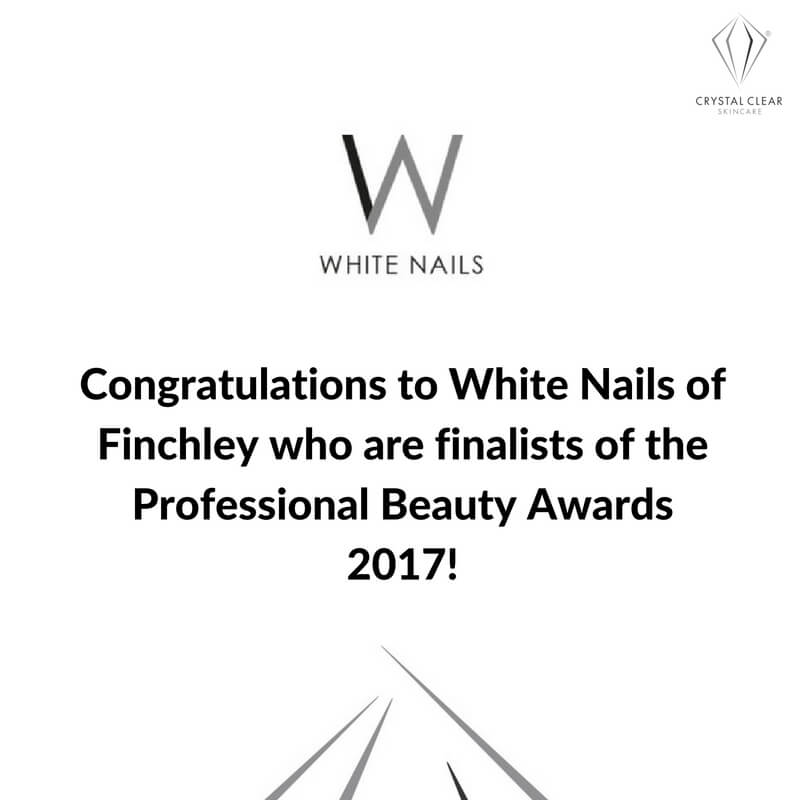 Crystal Clear Skincare congratulate White Nails, Finchley