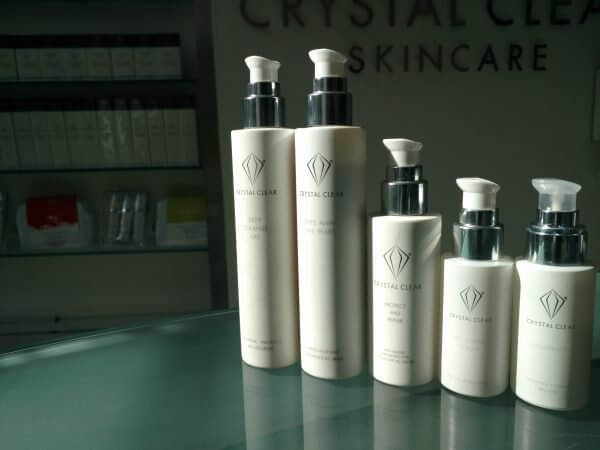 Crystal Clear Skincare Group Shot