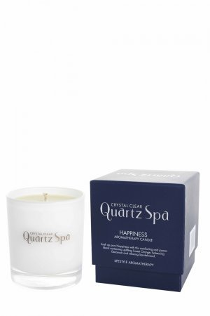 quartz spa candle